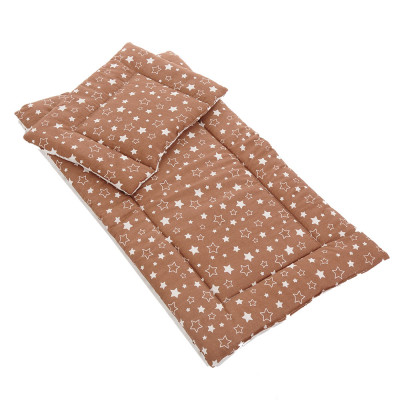 BAMBOLA` Комплект матрасик и подушка (для коляски)