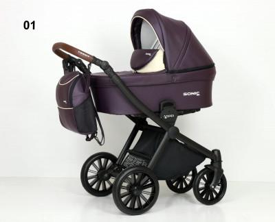 VERDI` SONIC SOFT коляска модульная 3в1