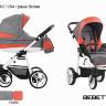 BEBETTO` VULCANO коляска модульная 3в1