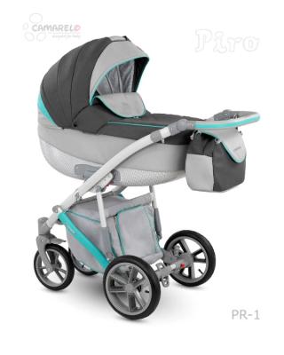 CAMARELO` PIRO коляска модульная 2в1