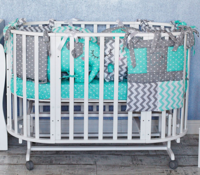 ТОПОТУШКИ` СЛОНИКИ комплект в кроватку (6п)