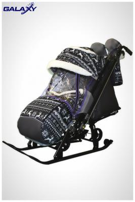 GALAXY` KIDS 1-2 санки коляска