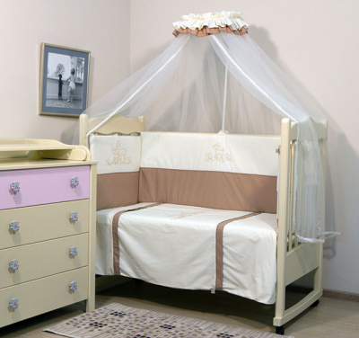 ТОПОТУШКИ` БАМБИНО комплект в кроватку (7п)