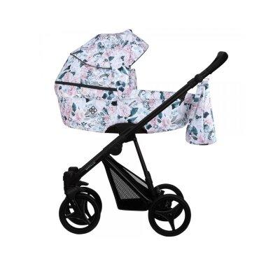 BEBETTO` NITELLO FLOWERS коляска модульная 3в1