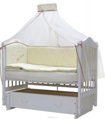 ТОПОТУШКИ` ЛЮБОВЬ комплект в кроватку (7п)