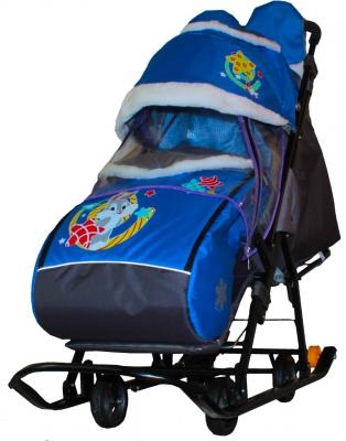 GALAXY` KIDS 2-1 санки коляска