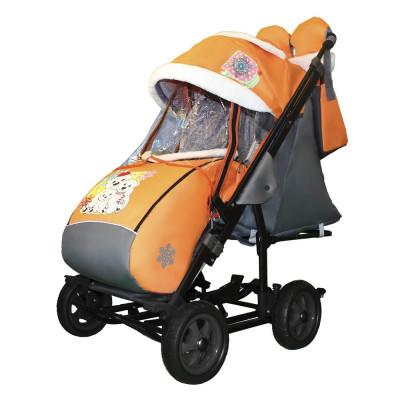 GALAXY` CITY 3-1 (2019) санки коляска (пенковые колеса)