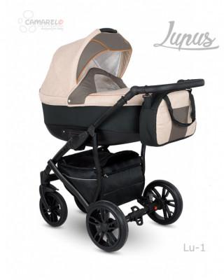 CAMARELO` LUPUS коляска модульная 2в1