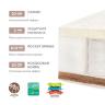 PLITEX` ORTO SLEEP Матрас в кроватку (160х80х16см)