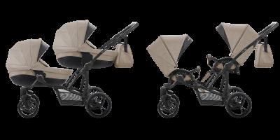 BEBETTO` 42 COMFORT коляска модульная 2в1 (дв)