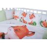 BAMBOLA` ЛИСЁНОК универсальный комплект в кроватку (6п)