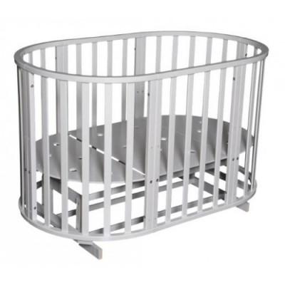 АНТЕЛ` СЕВЕРЯНКА-3 кроватка круглая 6в1 (маятник универсальный, колесо)
