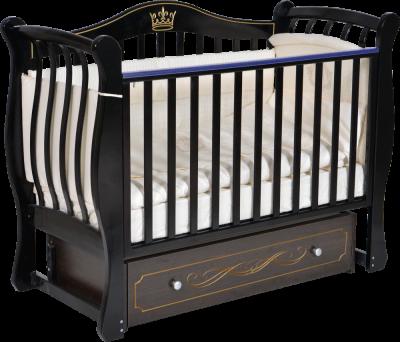 АНТЕЛ` LUIZA 33 кроватка (маятник универсальный, ящик закрытый)