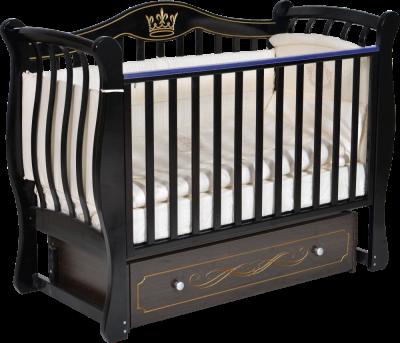АНТЕЛ` LUIZA 333 кроватка (маятник универсальный, ящик закрытый)