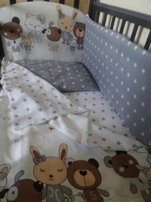 SMILE BABY` ИГРУШКИ комплект в кроватку (6пр)
